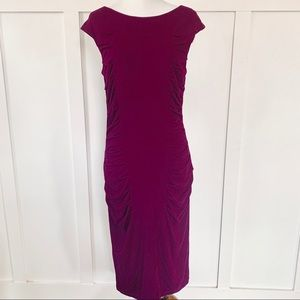 Betsey Johnson Bodycon Ruched Dress Cocktail